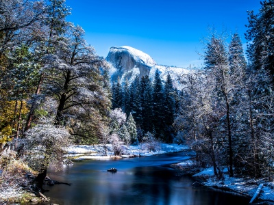 Yosemite National Park In Winter (click to view)