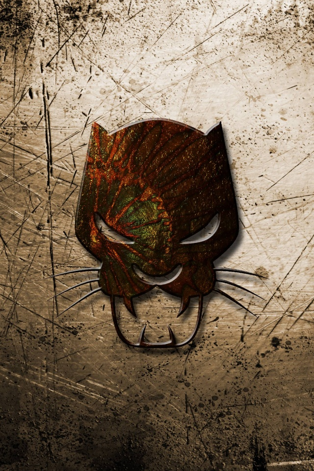 Art Black Panther Mask Marvel