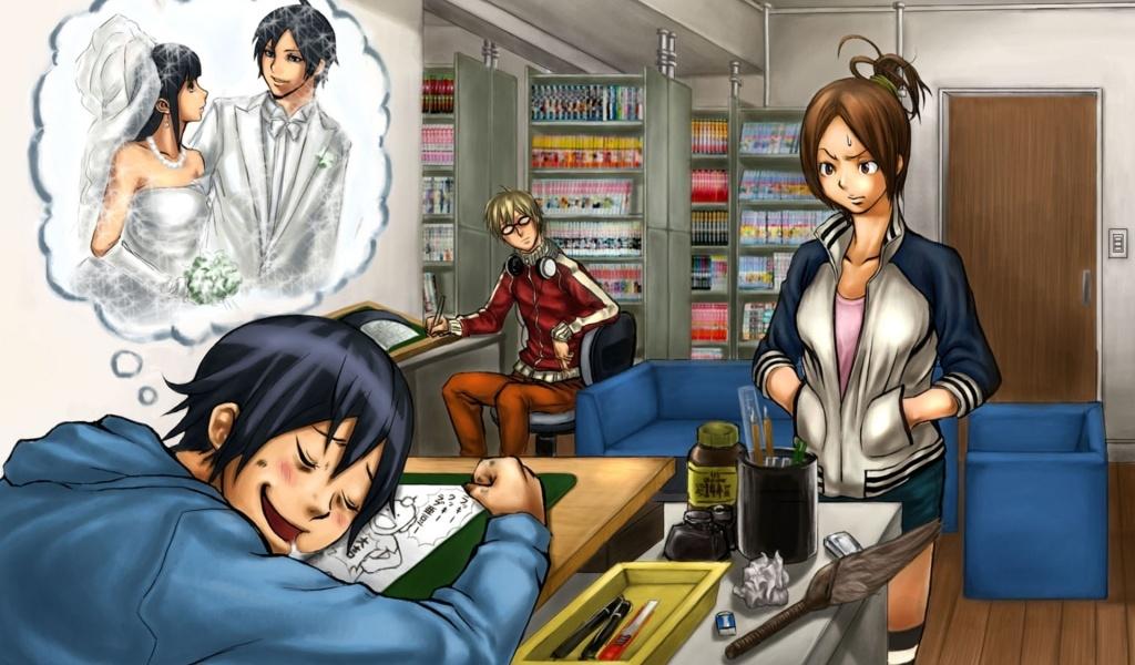 mashiro bakuman anime