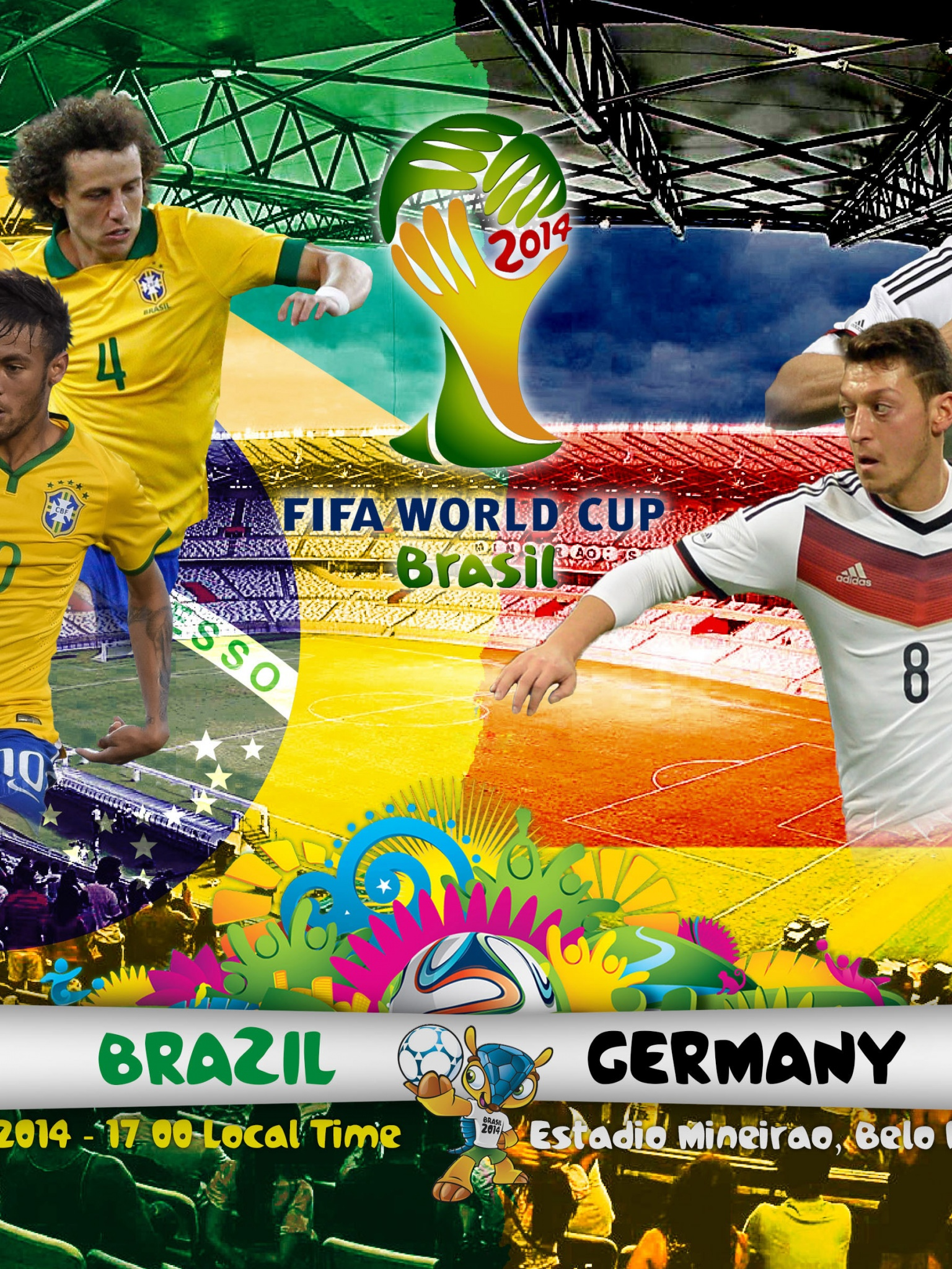 Brazil Vs Germany WC 2014 Semifinals
