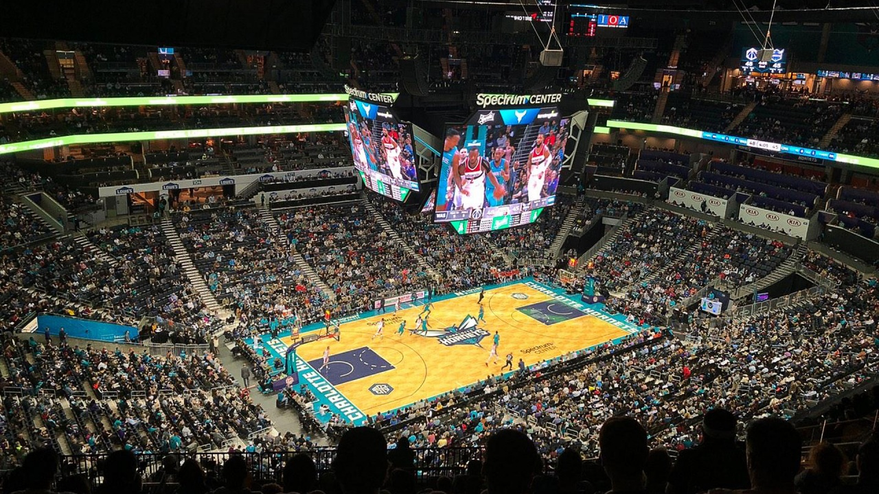 Charlotte Hornets Spectrum Center NC