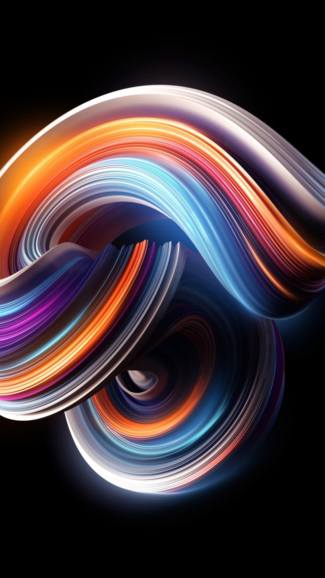 Colorful Curves 3D