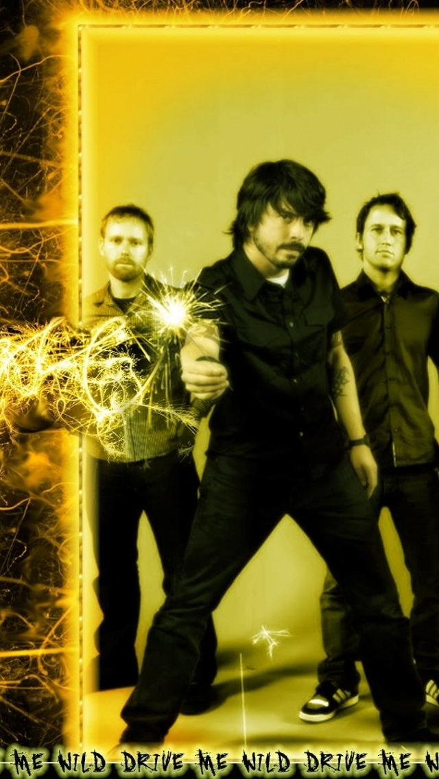 Foo Fighters Light Door Band Sparks