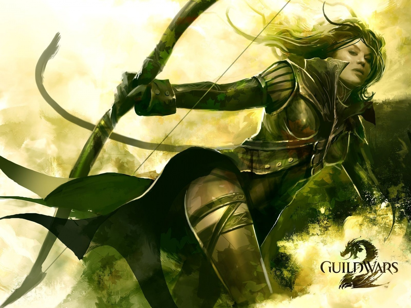 Guild Wars 2 Girl Archers