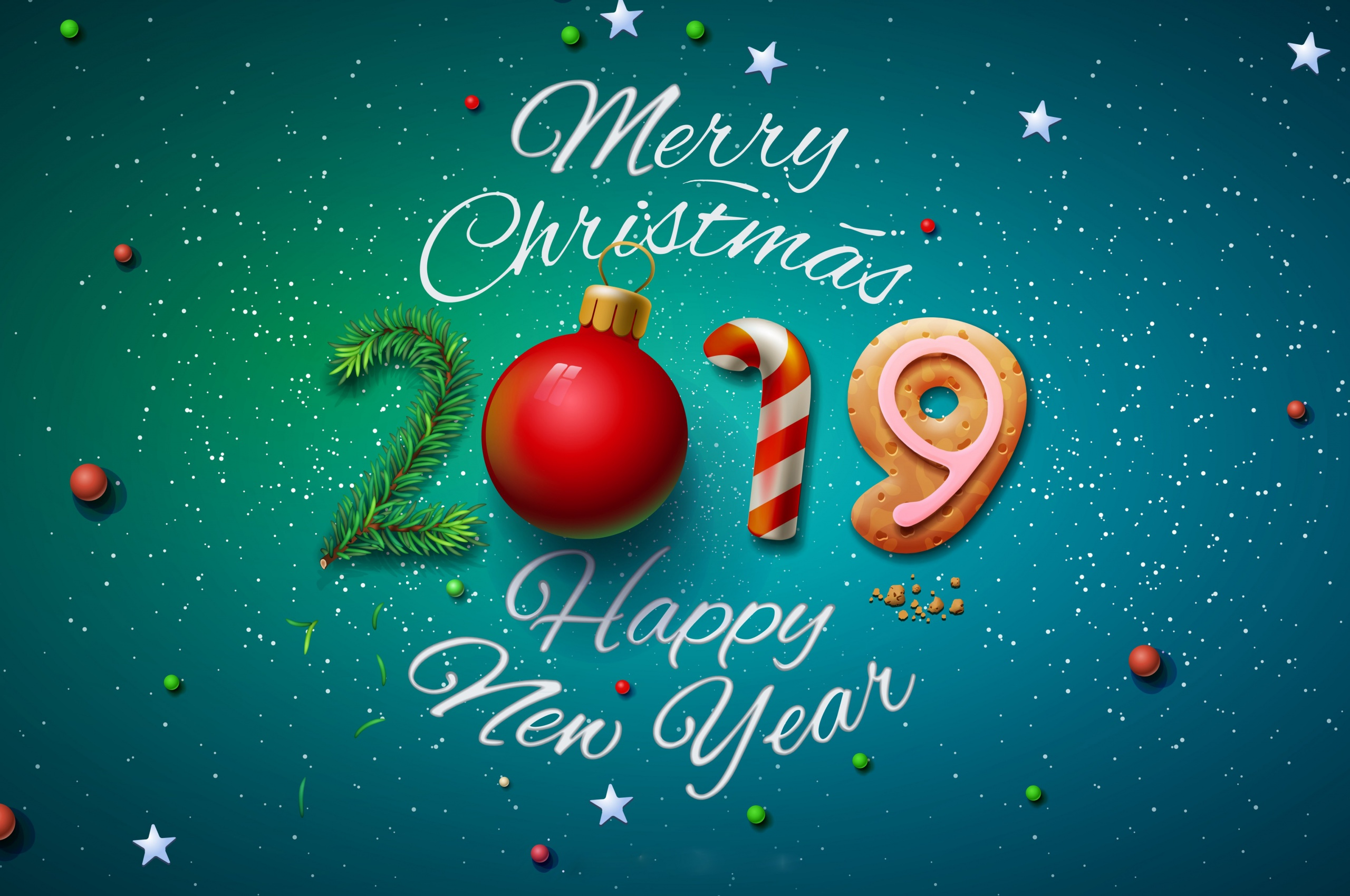 Merry Christmas Happy New Year 2019