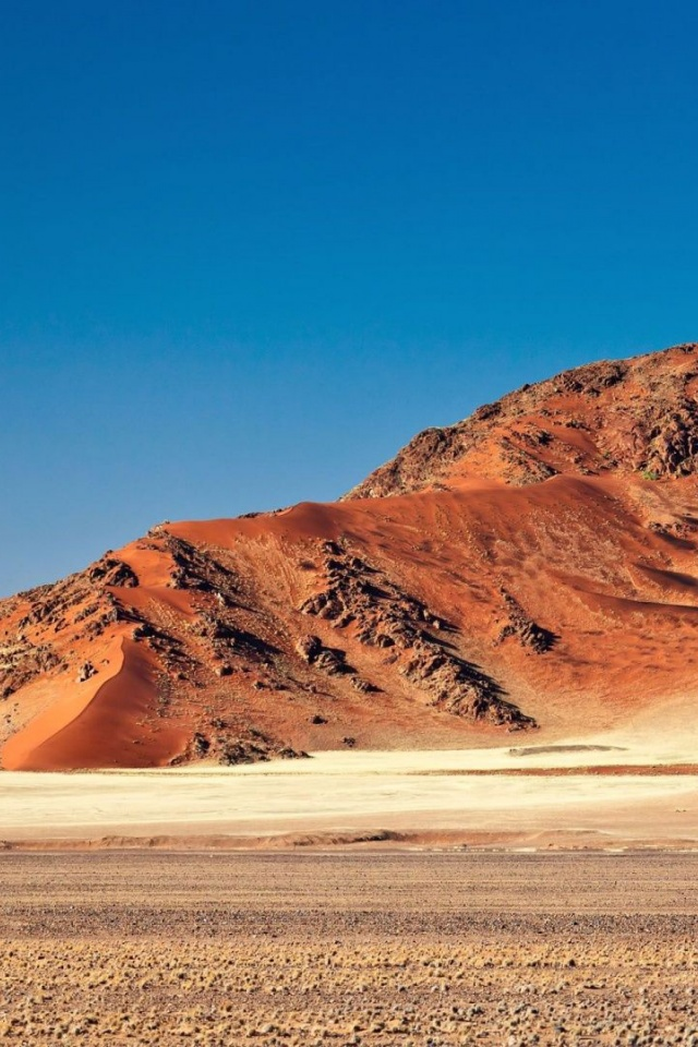 Mountain Sossusvlei Namib Desert Beautiful Nature Landscapes