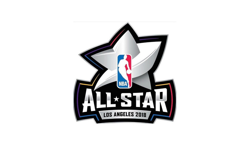 NBA All Star Logo Los Angeles 2018