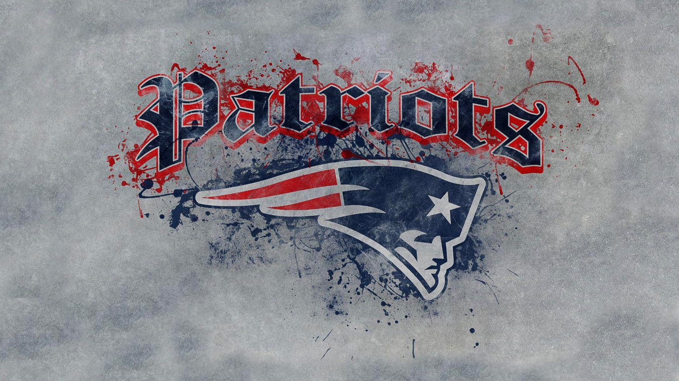 New England Patriots Art Logo