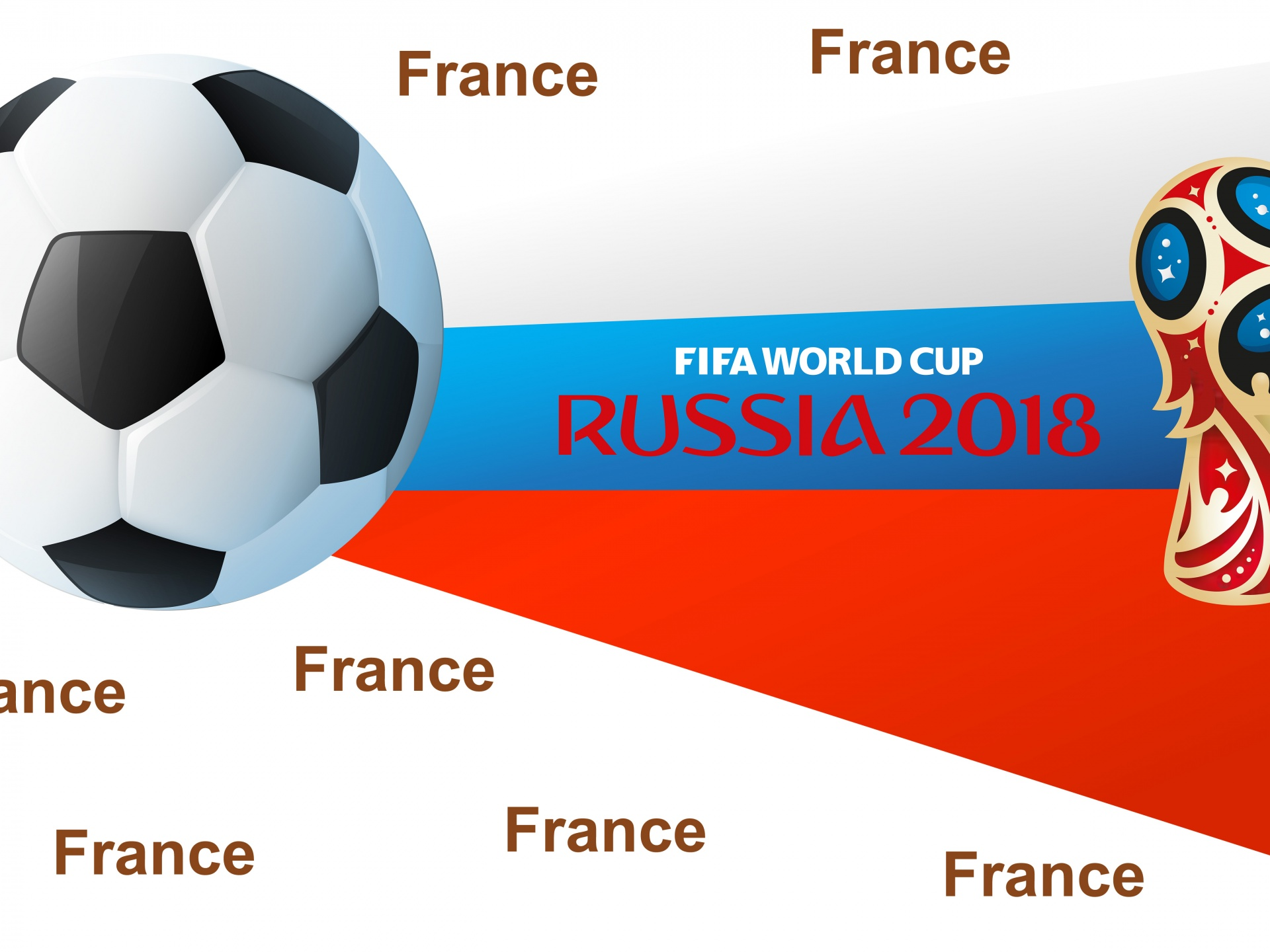 Russia WC 2018 Winner France
