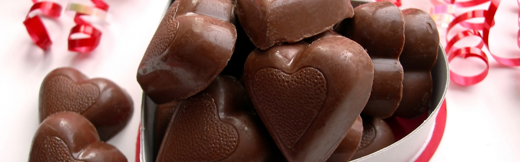 Valentines Day Chocolate Hearts