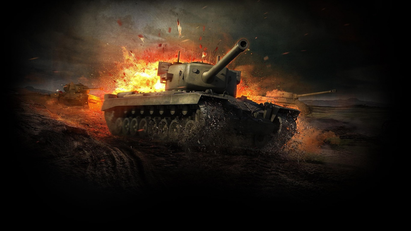 World Of Tanks War Scenes